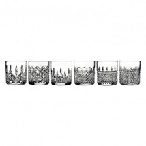 Waterford HERITAGE Set of SIX 6 Straight Sided Tumblers Glasses New # 40008683 - $332.39