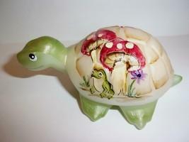 Fenton Glass Frog & Toadstool Mushroom Turtle Figurine Ltd Ed GSE #10/20... - $183.82