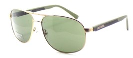 Harley Davidson HDX867 GLD-2 Aviator Sunglasses Gold 60-15-135 Gray + CASE - $35.66