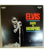 'Elvis - Back in Memphis' vintage lp vinyl record - $49.50