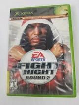 Fight Night: Round 2 Microsoft Original Xbox 2005 Game Used - $7.91
