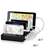 USB Charging Station Dock 8-Port Stand Organizer Multiple Desktop Dockin... - $38.22