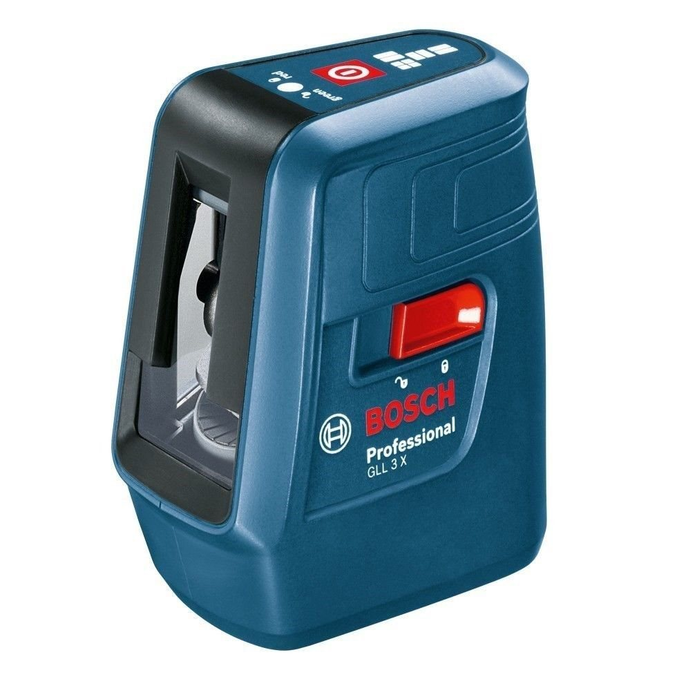 Bosch Bosch GLL3X Professional Laser Self-Level Units of measurement