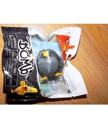 "Angry Birds Bomb Fat Black Bird 2"" PVC Figure Cake Topper New Spin Master  - $9.00"