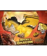 Mighty Dragon Light and Sound Roars Shakes Head Walks Eyes Light Up - $29.99
