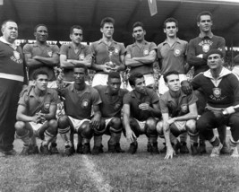 1958 BRAZIL 8X10 TEAM PHOTO SOCCER PICTURE WORLD CUP CHAMPIONS - $3.95
