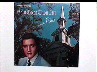 'How Great Thou Art' Elvis Presley lp vinyl record Bonanza
