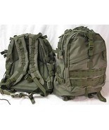 NEW - Military Patrol Tactical Assault MOLLE Backpack  OD GREEN OLIVE DRAB - $66.59