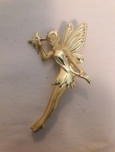 Magic Fairy Brooch /Pin  Marked Bancroft? - $9.41