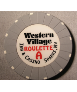 """1990's Roulette Chip From """"Peppermill's Western Village Inn & Casino"""" (s... - $3.99"""