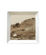 WesternWare ceramic square photographic serving platter - $99.50