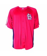 ST. LOUIS CARDINALS - MLB Men's Button Down Fashion Jersey - SIZE XL - NEW - $22.27