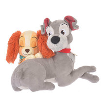 Disney Store JAPAN Lady and the Tramp Hug & Smile Plush doll  - $84.15