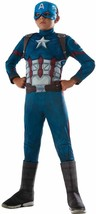 Captain America Civil War Superhero Fancy Dress Halloween Deluxe Child Costume - $48.53