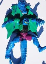 "Marvel Spider-Man 1998 Blue Crocodile Lizard Action Figure 10"" Toy Biz - $19.95"