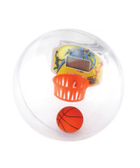 "handheld basketball DIGITAL game  4"" diameter Plastic globe - $11.29"
