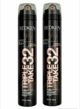 Redken Triple Take 32 Extreme High Hold Hairspray 9 oz (pack of 2) - $43.54