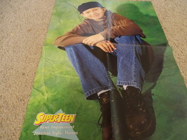 Jonathan Taylor Thomas Richard Jackson teen magazine poster clipping green back