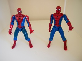 "Spider-Man Marvel Action Figures 1992 Toy Biz Lot 4.5"" Jointed - $9.95"