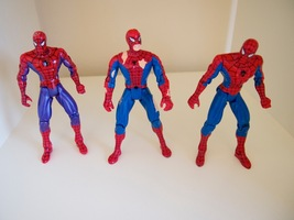"Spider-Man Animated Toy Biz 1995 Marvel 5"" Lot Ravaged Purple - $11.95"