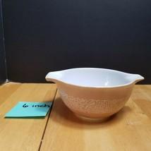 Pyrex Woodland Tan Cinderella Bowl 441 1 1/2 Pint - $7.87