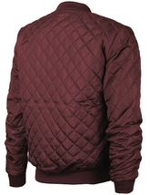 Men's Lightweight Ring Zipper Quilted Water Resistant Slim Bomber Jacket JASON image 13