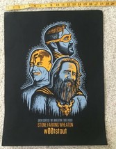 Stone Farking Wheaton Woot Stout Used Poster craft beer brewery brewing image 1
