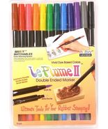 Marvy Le Plume II Double Ended Marker 12 piece Primary Set - $19.95