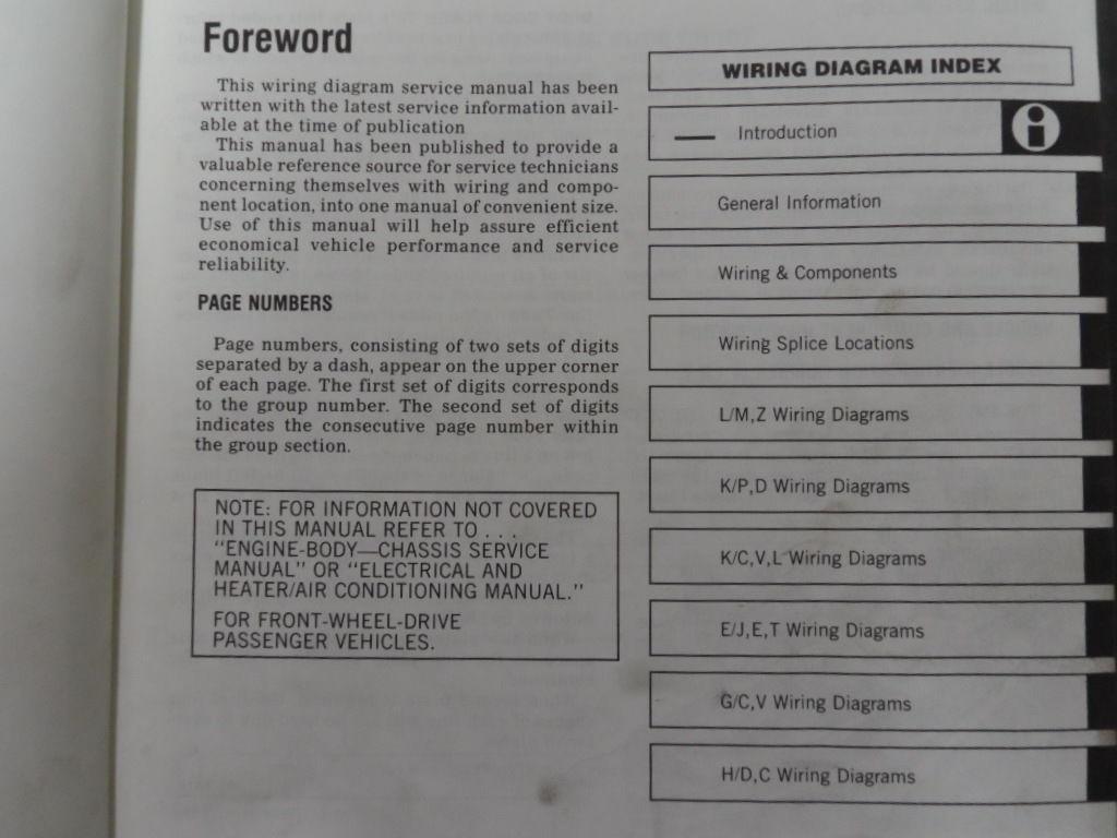 1985 Mopar Plymouth Reliant Service Shop Repair Workshop Manual Set OEM Book x