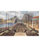 Finish on Steeple Chase Rollercoaster Forest Park Chicago Illinois 1910 ... - $6.93