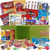 Catered Cravings Gift Baskets with Sweet and Salty Snacks, 54-Counts image 1