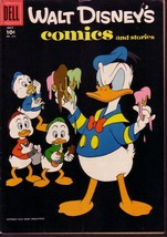 WALT DISNEY'S COMICS & STORIES #214 DONALD DUCK BARKS VG - $14.55