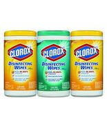 CLO30208PK - Clorox Disinfecting Wipes - $24.01