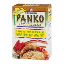4 Pack) Kikkoman Whole Wheat Panko Bread Crumbs, 8 oz - $1.21