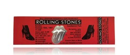 ROLLING STONES AUTHENTIC UNUSED TICKET CANDLESTICK PARK CONCERT SAN FRAN... - $106.21