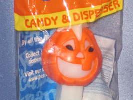 "Halloween ""Jack o Lantern Pumpkin"" Candy Dispenser by PEZ (Bag). - $7.00"