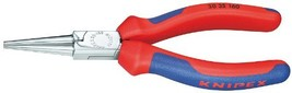 Knipex 3035160, 6 1/4-Inch Long Round Nose Pliers with Comfort Grip
