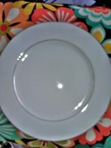 "4  Southwicke Porcelain China  Japan dinner plates 10"" white lace pattern  - $18.88"