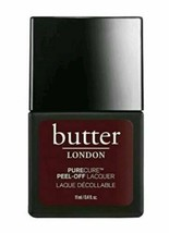 NIB butter LONDON Purecure Peel-Off Lacquer JAMMY 0.4 oz High Shine