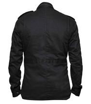 Celebrity Jon Dare Bernthal Black Castle Cotton Devil Jacket image 4