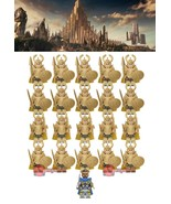 21pcs/set Marvel Thor Ragnarok Valkyrie Asgard Einherjar Guard Army Mini... - $29.99