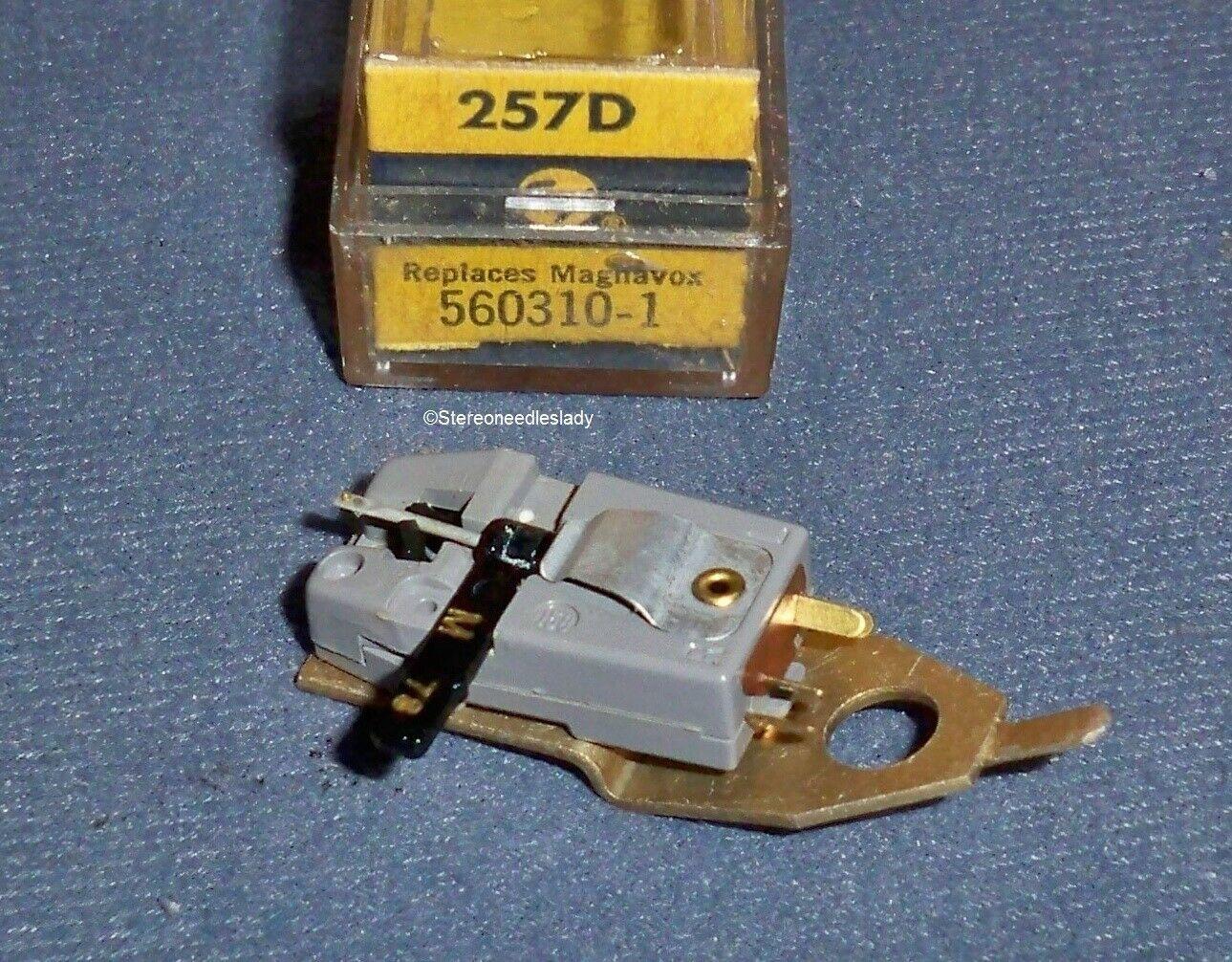 PHONOGRAPH CARTRIDGE NEEDLE Electro-Voice EV 257d 257 Magnavox 560310 365-DS73
