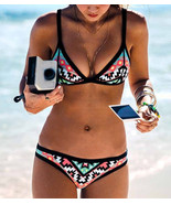 2017 Hot Design Retro Style Simple Model Sexy Printing Swimsuit Bikinis - $23.73