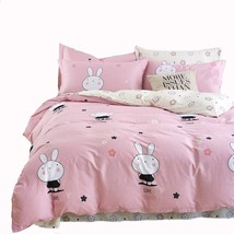 Mumgo Home Collection Bedding Sets for Kids Girl Lovely Rabbit 100% Cott... - $81.26