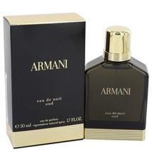 Giorgio Armani Eau De Nuit Oud 1.7 Oz Eau De Parfum Cologne Spray image 1