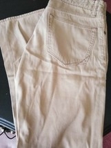 men's BANANA REPUBLIC flat front khakis chino pants 30 X 30 - $19.00