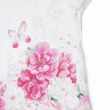 Mayoral Little Girls Sparkle Butterfly-N-Floral Pleated Back Dress image 3