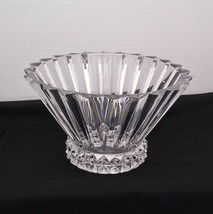 Rosenthal Classic Blossom Pattern 24% Lead Crystal Glass 10 inch Bowl  G... - $22.00