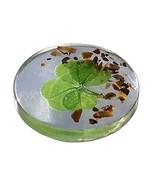 KIN-HEBI Real Four Leaf Clover Good Luck Pocket Token, Preserved, Includ... - $18.24