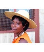 Beach hat | Floppy hat | Mens hat | Straw hat for women| Sun hat | Vinta... - $45.00